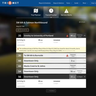 Trimet.org redesign